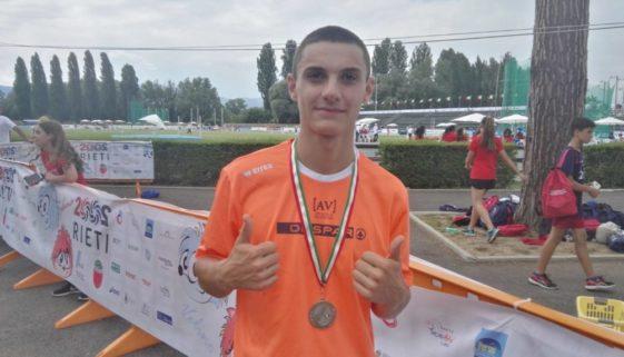 Lorenzo Frivoli argento nei 400 hs